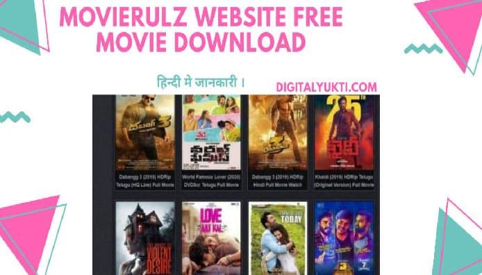 MovieRulz Free Movie Downloading Website