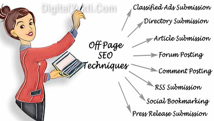Off-Page SEO Techniques in hindi